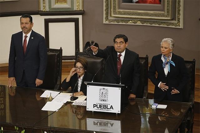 Toma de protesta de Barbosa costó 5.7 millones de pesos