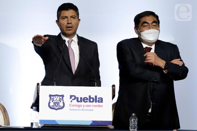 Inicia nueva era de Eduardo Rivera, ahora con respaldo de Barbosa