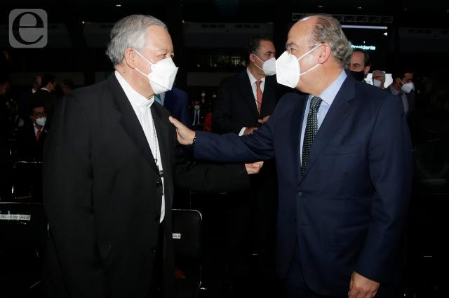 Llegaron Felipe Calderón y Marko Cortés pero Genoveva Huerta, no