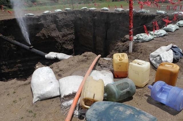 Aumentan tomas y cae decomiso de huachicol en Puebla