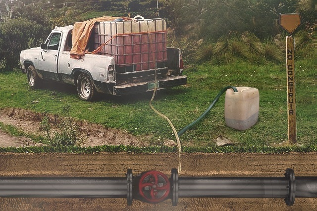 Huachicol perfora diario 6 tomas ilegales de combustible en Puebla
