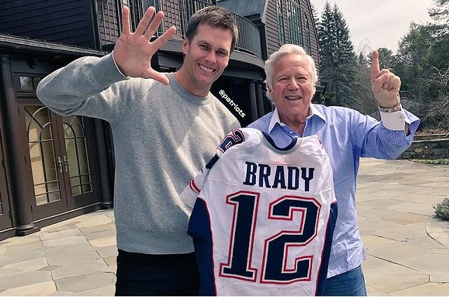 Tom Brady ya tiene en sus manos los jerseys robados durante Super Bowl