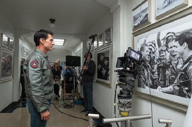 Tom Cruise habló con turistas espaciales