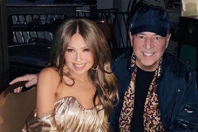 Tommy Motola celebra con foto los 20 años de conocer a Thalía