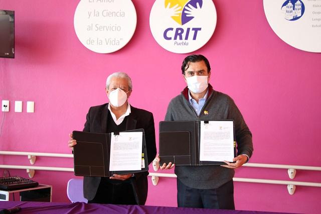 Issstep y CRIT Puebla colaboran con servicios médicos y capacitación