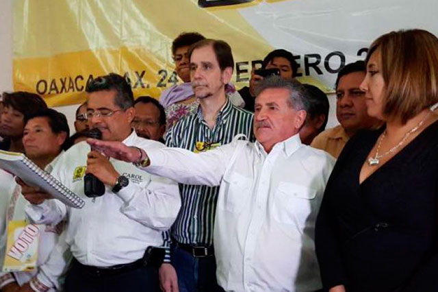 INE ordena bajar los spots de José Antonio Estefan en Oaxaca