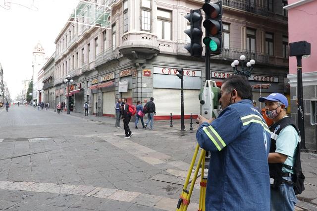 Constructora debe tramitar permisos para obras en el centro de Puebla