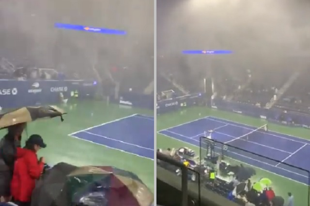 Tormenta en Nueva York azota pistas del US Open