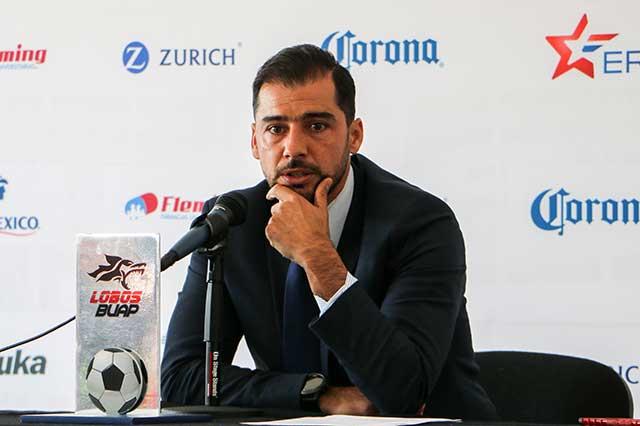 Primer torneo dejó estructura sólida en Lobos BUAP: Rafael Fernández