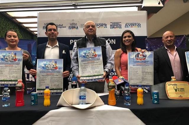 Ayuntamiento de Puebla presenta torneos de box y de pénaltis