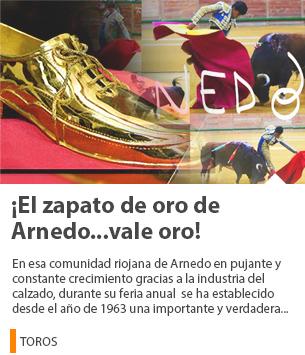 ¡EL ZAPATO DE ORO DE ARNEDO…VALE ORO!