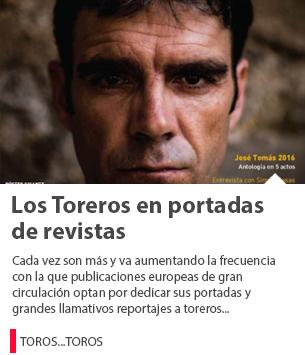 LOS TOREROS EN PORTADAS DE REVISTAS