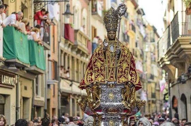 Día de San Fermín, Santo Patrono de Pamplona