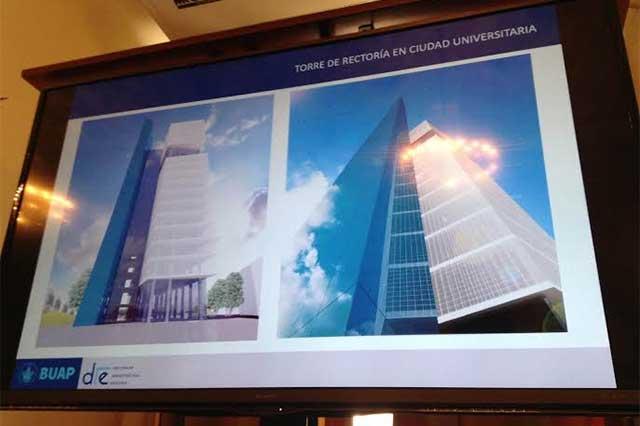 Construirá BUAP la Torre de Rectoría y Centro de Convenciones