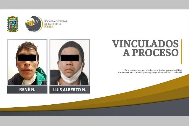 Vinculan a proceso a presuntos extorsionadores en Puebla