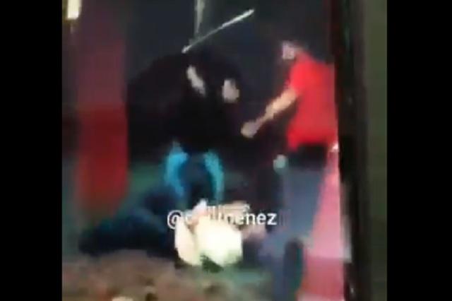 Así torturan miembros de 'La Unión' a comerciantes en CDMX