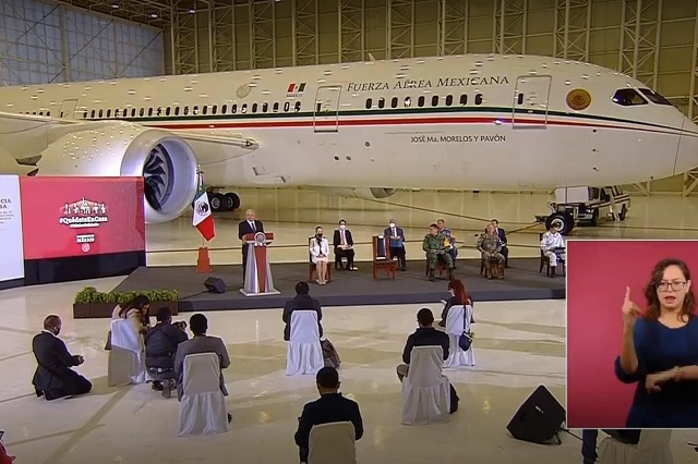 Fueron en total 158 viajes realizados por EPN con avión presidencial