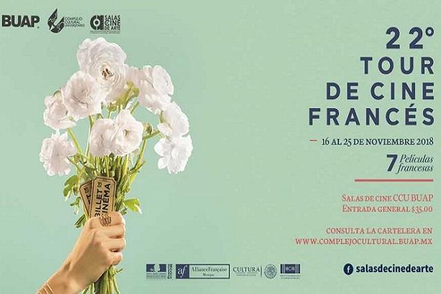 Edición 22 del Tour de Cine Francés llega a las salas del CCU