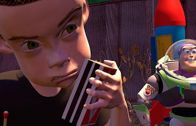 Mira los villanos en la historia de Toy Story