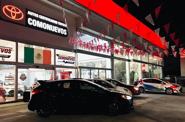 Roban camioneta nueva en agencia Toyota Los Fuertes