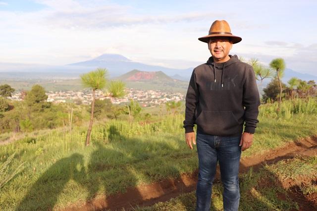 Se trabaja para que cerro Zapotecas sea receptor de agua: Arriaga