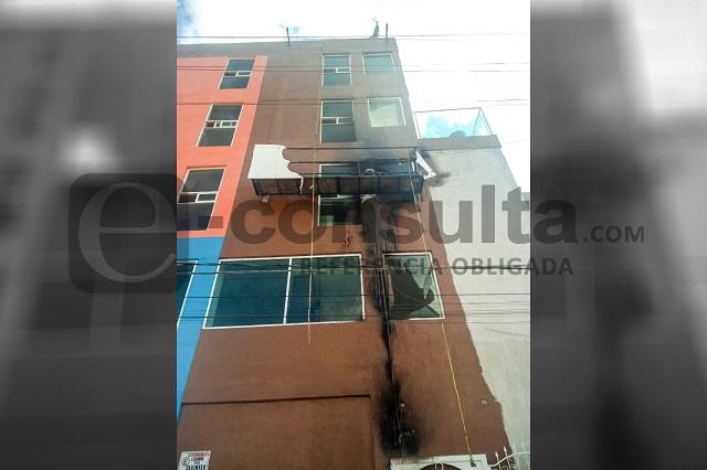 Trabajador muere al caer de un edificio en Lomas de Angelópolis