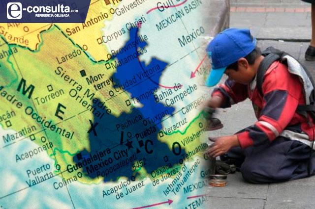 Son niños de Puebla los segundos más explotados del país