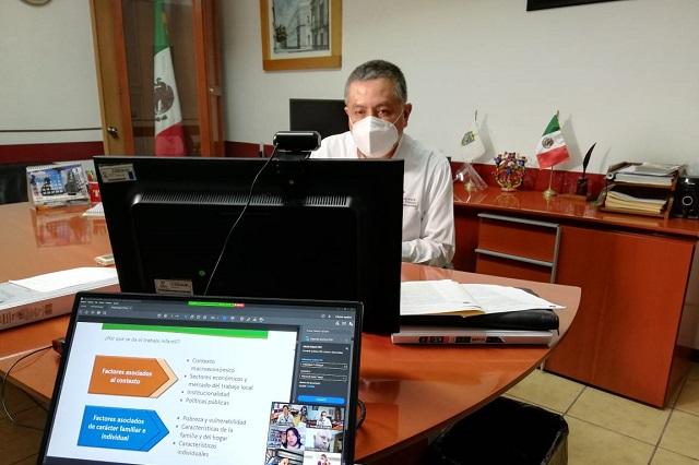 Sesiona comisión para combatir el trabajo infantil en Puebla