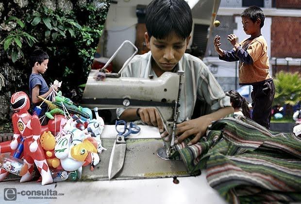 Es Puebla el segundo estado con más niños trabajadores