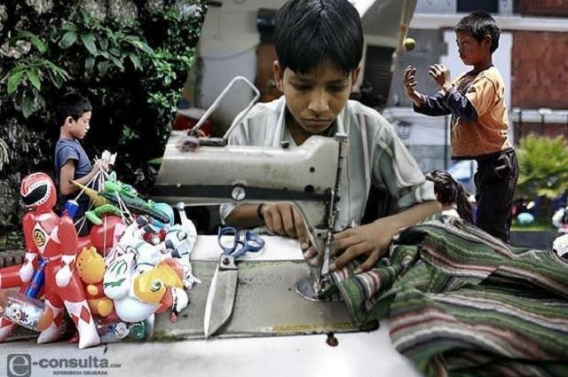Puebla supera media nacional de niños que trabajan: INEGI
