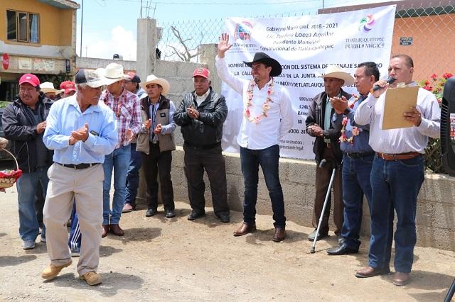 Trabajo conjunto de ciudadanos y ayuntamiento en Tlatlauquitepec