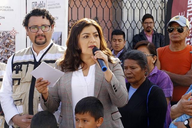 Sigue sin cambios el gabinete del gobierno capitalino: Claudia Rivera