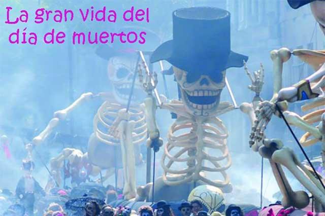 Tradición de Día de Muertos, vivita y coleando en México