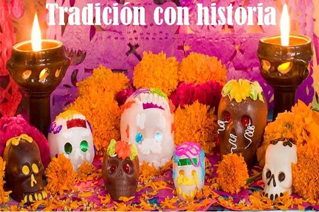 Las ofrendas, una tradición con historia