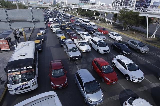 Ubican a Puebla entre las tres peores ciudades para conducir