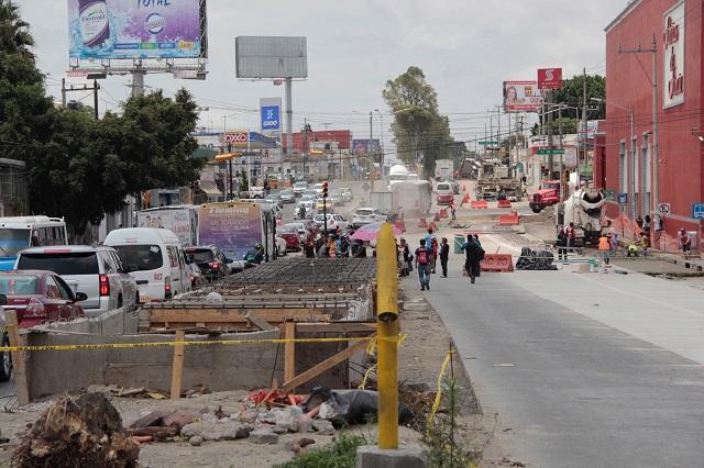 Cae 5.7% el valor de la producción de obra generado en Puebla