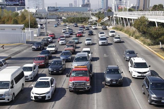 Llegan a Puebla y zona conurbada 52 mil nuevos autos en 16 meses