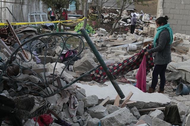 Suman 14 muertos por explosión en Chilchotla