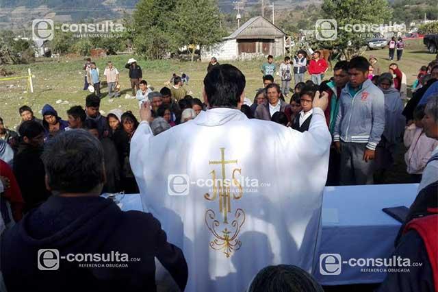 Tradición religiosa termina en tragedia en Chilchotla