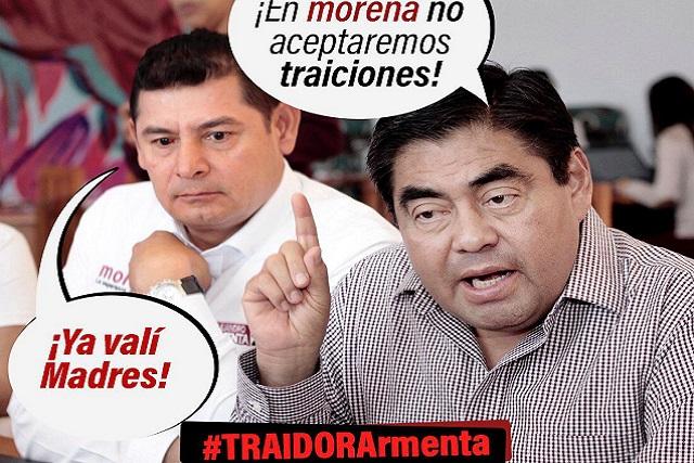 #TraidorArmenta ya es tendencia en redes sociales