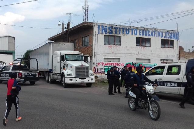 De 9 a 11 horas, mayor robo de transporte de carga en Puebla