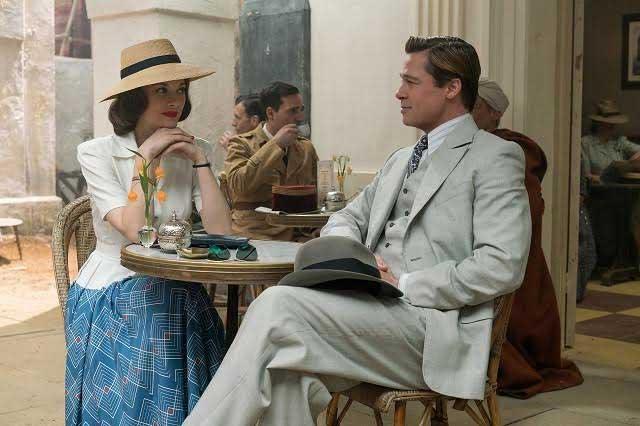 Presentan tráiler de la película Aliados con Brad Pitt y Marion Cotillard