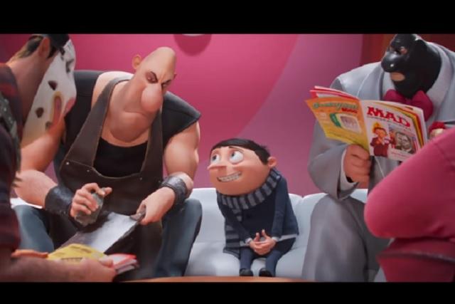 Mira el origen de Gru en el nuevo tráiler de 'Minions: Nace un Villano'