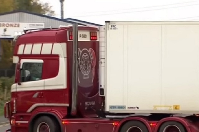 Capturan en Reino Unido a 2 más por camión con 39 personas muertas