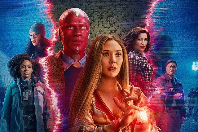 Estrenan poster y trailer de mitad de temporada de WandaVision