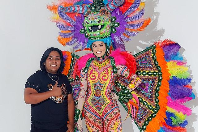 Oaxaqueño creó traje de alebrijes de Andrea Meza para Miss Universo