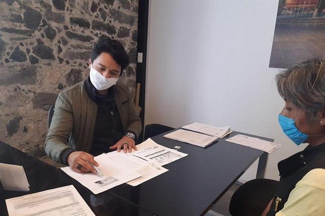 Trámites gratuitos en Ayuntamiento de Puebla a población migrante