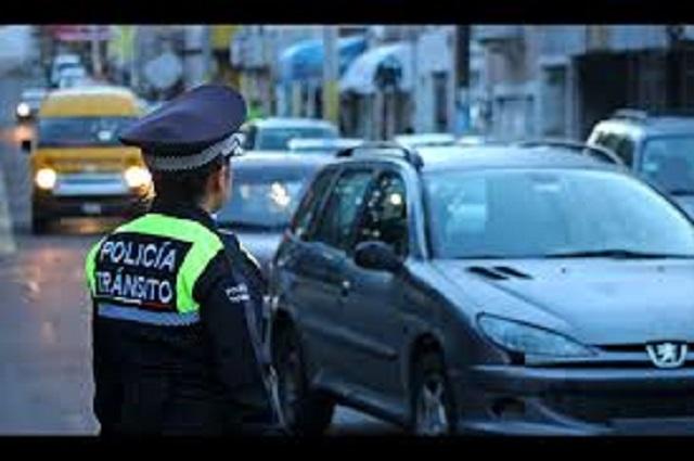 Atlixco recibe 120 mil pesos al mes por multas de tránsito