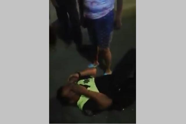 Amenaza policía a víctimas de choque y a poblador de Coxcatlán