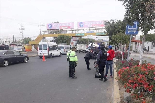 Policías de tránsito portarán armas en Tehuacán